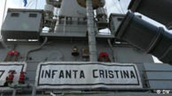 Spanish anti-pirate vessel MS Christina