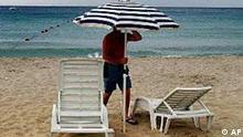 Selbst in Italien ist schlechtes Wetter