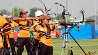 Archery in Bhutan is different from international archery in terms of targets and the atmosphere