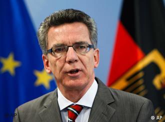 توماس دو مزییر، وزیر کشور آلمان
