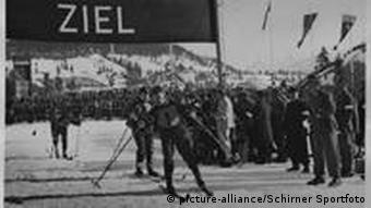 Nordic skiiers at the 1936 Winter Olympics in Garmisch