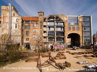 Tacheles Art House, a run-down old department store