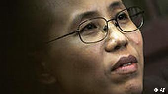 China Liu Xia Ehefrau von Dissident Liu Xiaobo in Peking