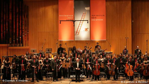 Beethovenfest Probe zum Orchestercampus Flash-Galerie