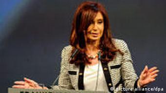 Cristina Kirchner (Foto: dpa)