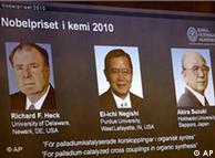 نوبل انعام يافتہ امريکی ہيک اور جاپان کے نييگيشی اور سوزوکی