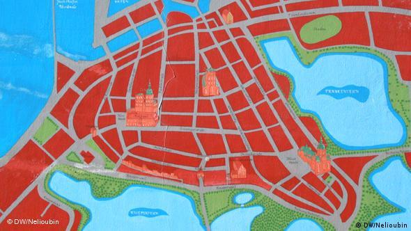 Карта Штральзунда