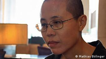 Porträt Liu Xia (Foto: DW / Mathias Bölinger)