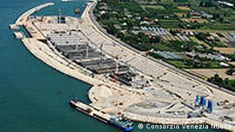 The MOSE project encompasses 78 floodgates to block the inlets when the tide reaches over 110 centimeters
