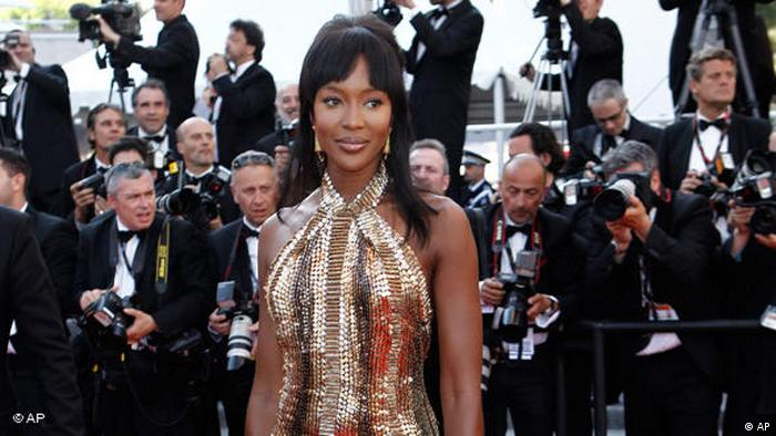 Naomi Campbell beim Filmfestival in Cannes FLASH-Galerie (AP)