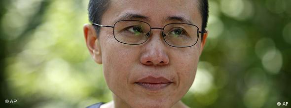 Superteaser NO FLASH China Liu Xia Ehefrau von Dissident Liu Xiaobo in Peking (AP)