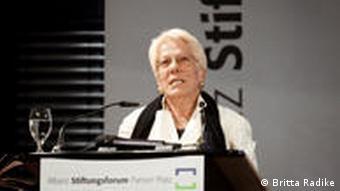 Carla Del Ponte erhält Theodor-Wanner-Preis 2010
