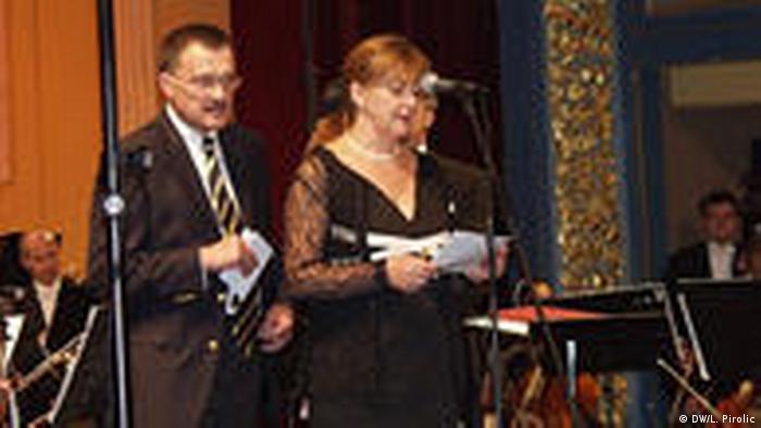 Sarajevo Konzert Deutsche Einheit (DW/L. Pirolic)