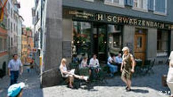 Одна из улиц Цюриха