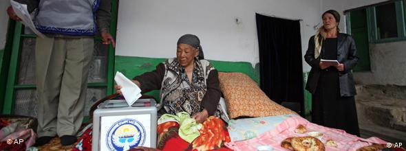 Kirgistan Parlamentswahl NO FLASH