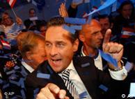 هاینتس کریستیان شتراخه، رهبر حزب راستگرای اتریش