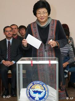 Election results are a blow to Kyrgyz President Roza Otunbayeva