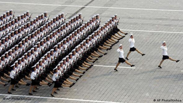 Flash-Galerie Nordkorea Militärparade Kim Jong Il Kim Jong Un