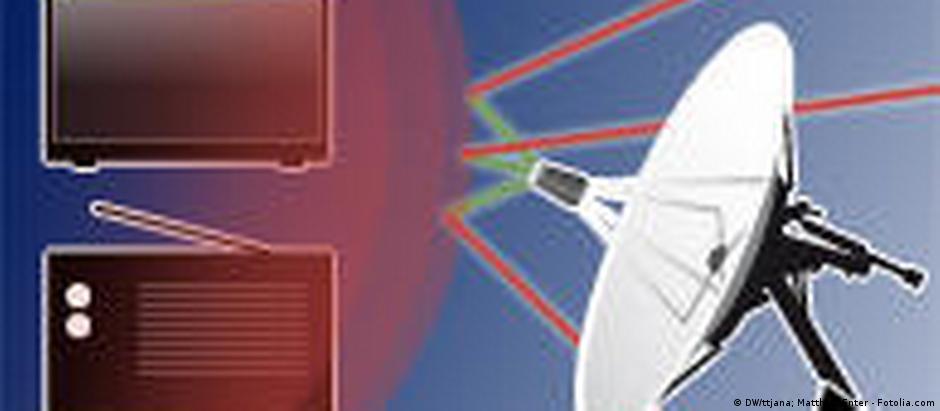 Symbolbild Störungen von Übertragungssignalen