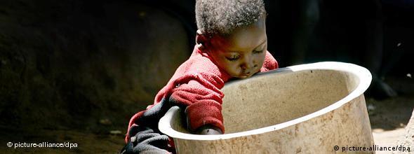 Kinder haben in Hungerzeiten oft nichts zuzusetzen (Foto: dpa)