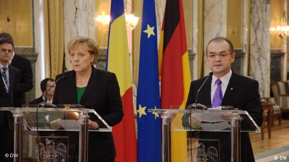Flash-Galerie Merkel in Bukarest