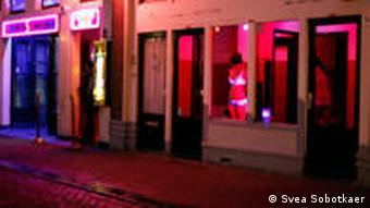 В квартале красных фонарей