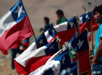Chile Minenunglück Rettungsarbeiten Flash-Galerie