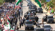 Ahmadinedschad im Libanon