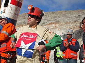 Chile Bergleute Bergarbeiter Rettung Mario Sepulveda FLASH-Galerie