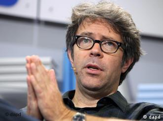 US author Jonathan Franzen