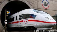 Bahn beginnt ICE-Testfahrten im Eurotunnel