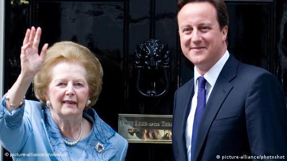 Flash-Galerie Margaret Thatcher David Cameron