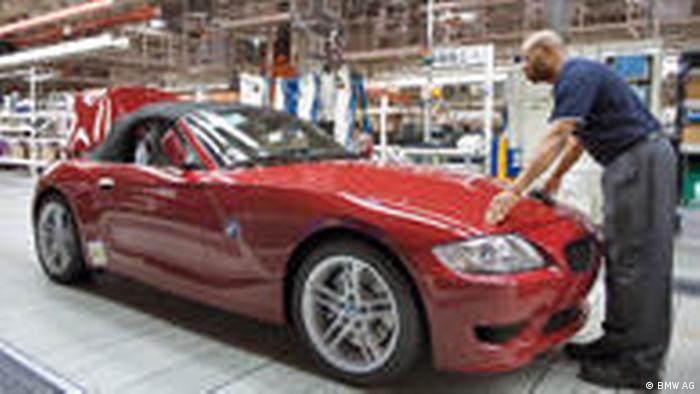 BMW eröffnet Werkserweiterung in Spartanburg USA