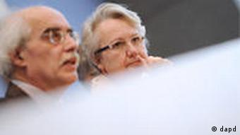 PK Annette Schavan und Reinhard Schulze