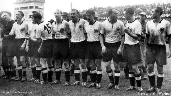 West Germany weren't given much of a chance in the 1954 final
