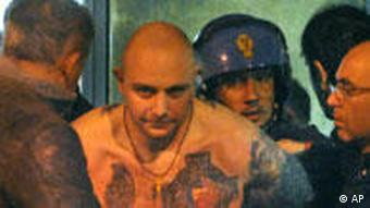 The ringleader of the Serbian riots is arrested