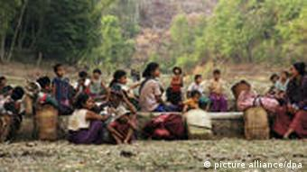 The Karen are reluctant to return to Myanmar for fear of persecution