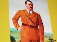Adolf Hitler, un cuadro de la exposición.