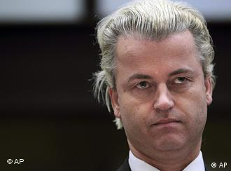Dutch anti-Islam politician Geert Wilders