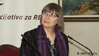 Natasa Kandic Menschenrechtsaktivistin Serbien