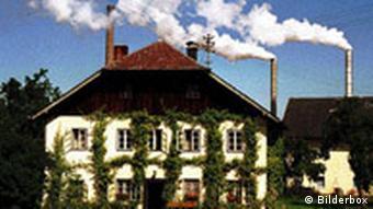 Bauernhaus mit Schloten