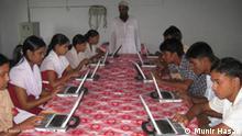 FLASH-GALERIE Solarbetriebene Computer in Bangladesch