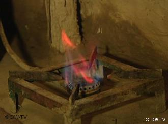 A gas stove fulled by biogas