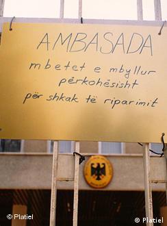 Flash-Galerie Albanien Wende 1990