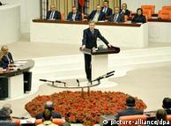 وولف نخستین  رئیسجمهور آلمان است که در پارلمان ترکیه اجازه سخنرانی یافته است