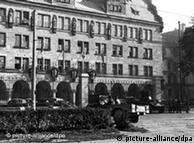 Pallati i drejtësisë në Nyremberg mbahej i bllokuar gjatë zhvillimit të proceseve.