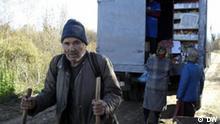 Bilder, die unser Korrespondent Alexander Burakow in Dörfen an der Grenze zwischen Russland und Belarus gemacht hat.
