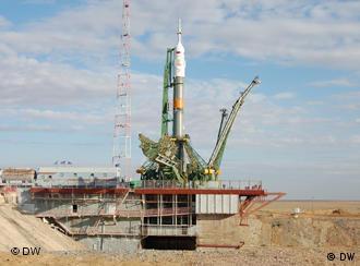 Ракета-носитель Союз на старте