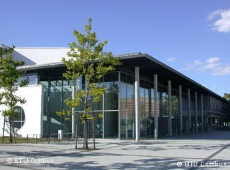 Централната зграда на БТУ во Котбус