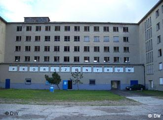 The site of the exhibition in Prora